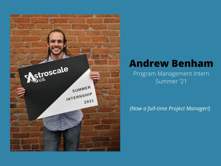 Andrew Benham Astroscale U.S.